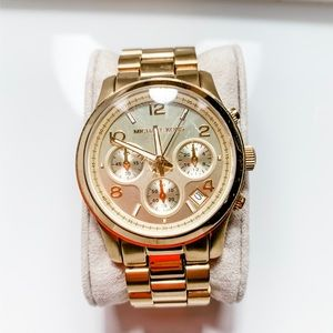 Michael Kors Classic Gold Tone Watch